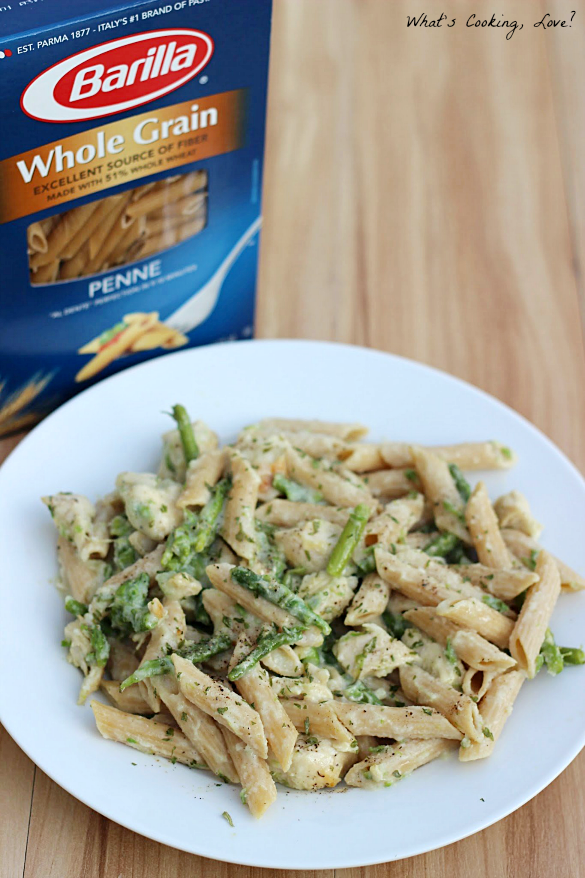 Healthy Chicken Penne Alfredo Betterforyou Whats Cooking Love