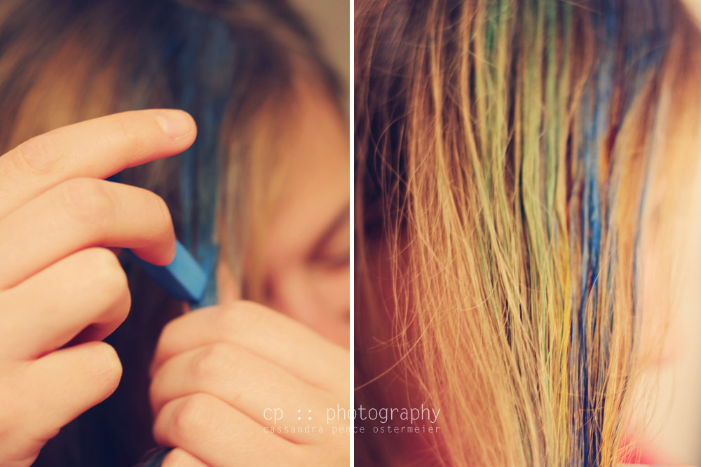 Hair Color Chalk Review