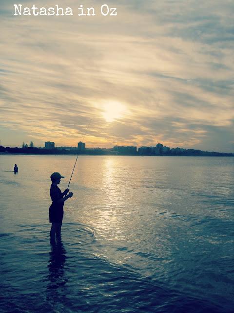 Beach Therapy, Natasha in Oz, Mooloolaba, beach image, sunset image