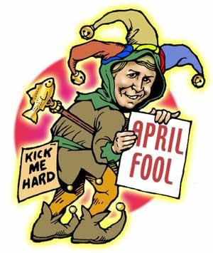 วันโกหก (april fool's day) วันเมษาหน้าโง่ 1 เมษายนของทุกปี