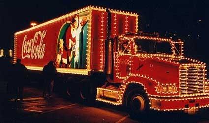 Coca Cola Trucks Wallpaper Coca Cola Christmas Trucks