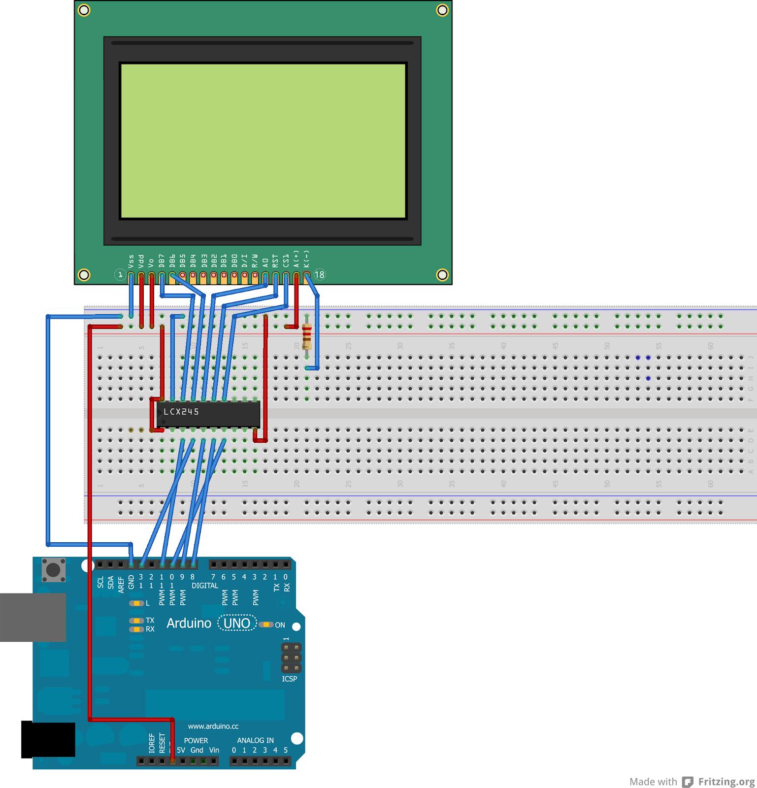 Gastadas y frikadas variadas tutorial arduino display