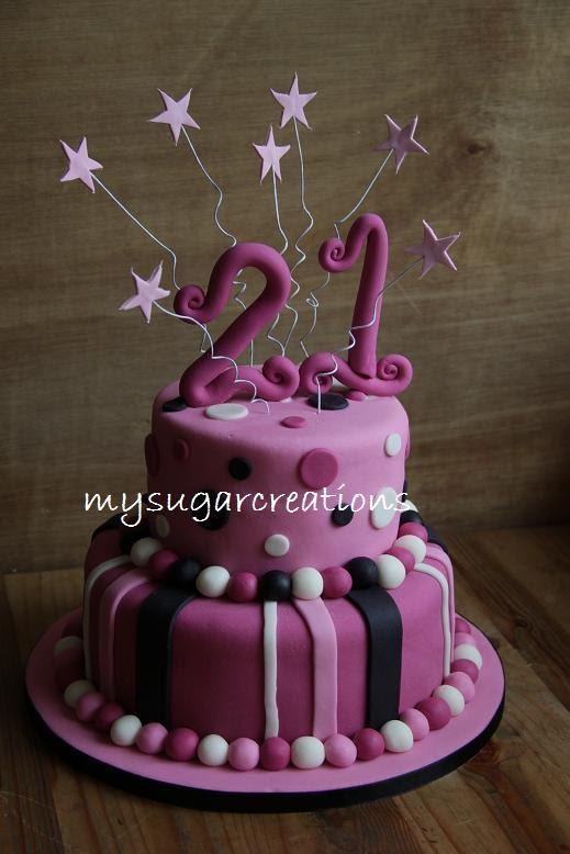My Sugar Creations 001943746 M 21st Birthday Cake Hasvini