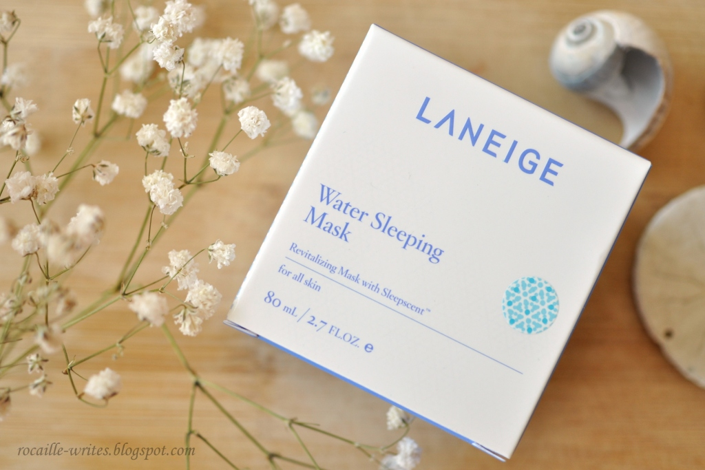 Cooling Overnight Facial: Laneige Water Sleeping Mask* Review