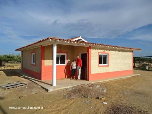 Vivienda de bajo costo levantada con nuevo método de construcción