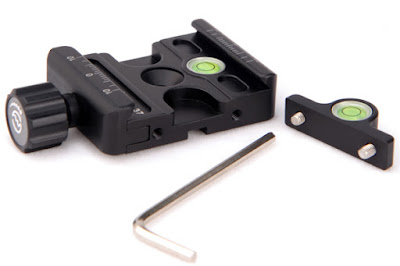 Sunwayfoto DDC-37 QR Clamp w/ extra bubble level & hex key