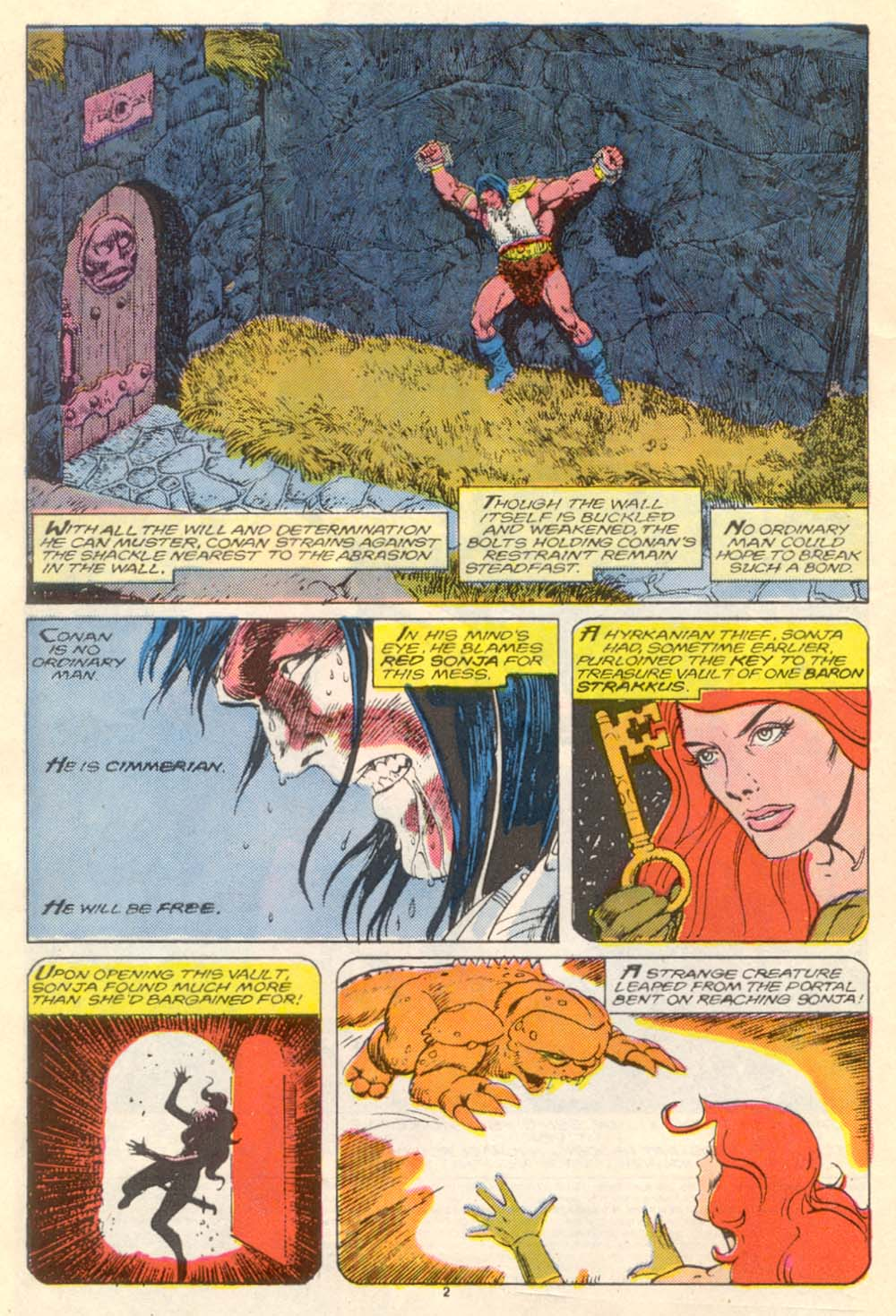 Conan the Barbarian (1970) Issue #205 #217 - English 3