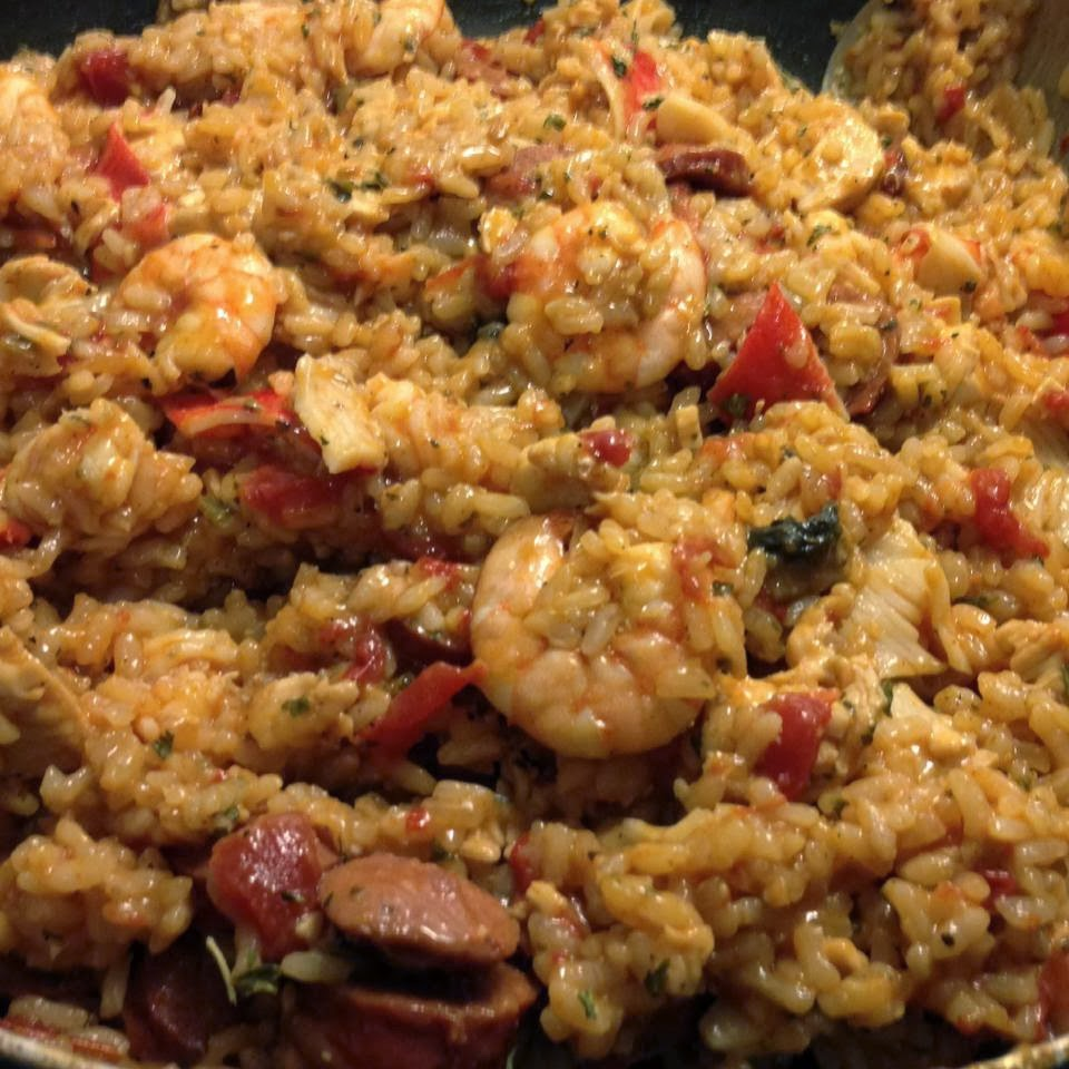 Shrimp and sausage Jambalaya | Food Gasms Recipes