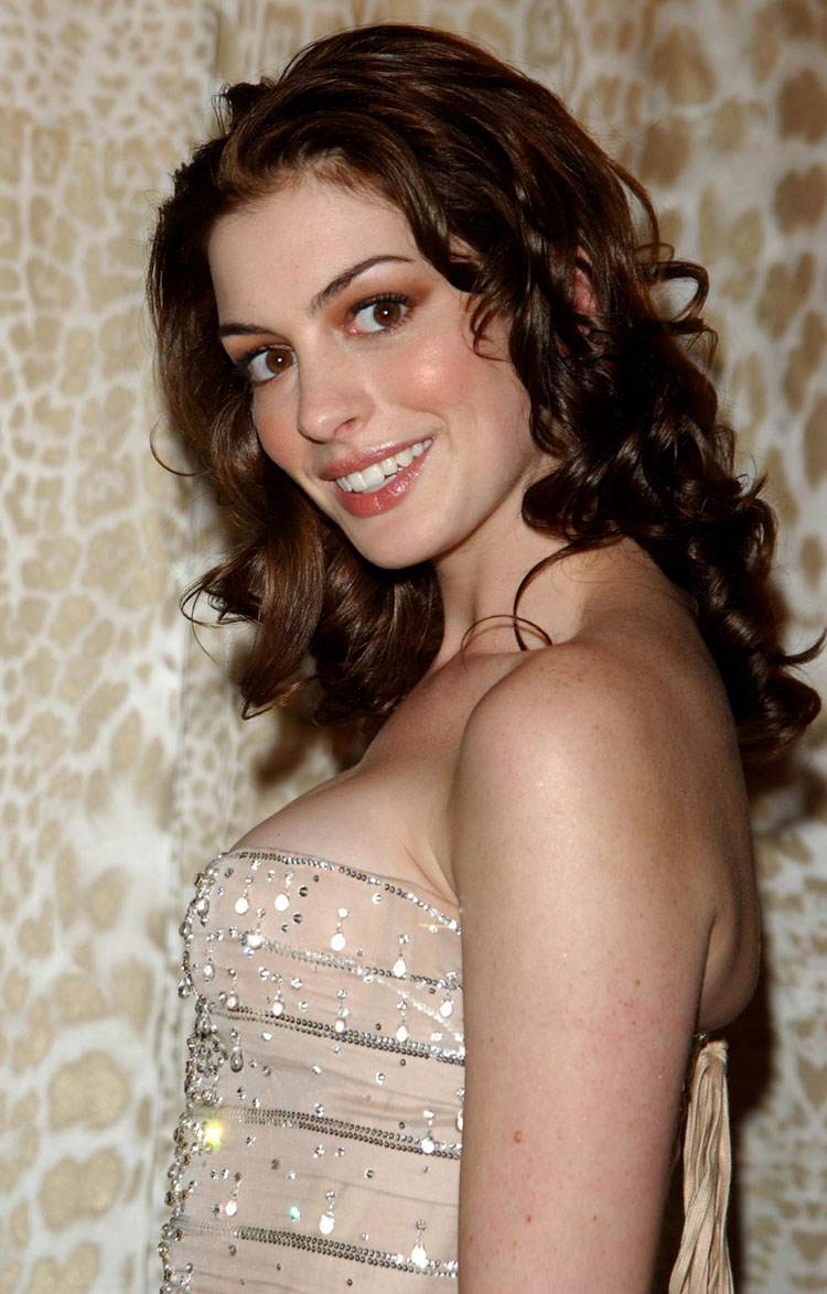 Anne Hathaway Hair Color 22