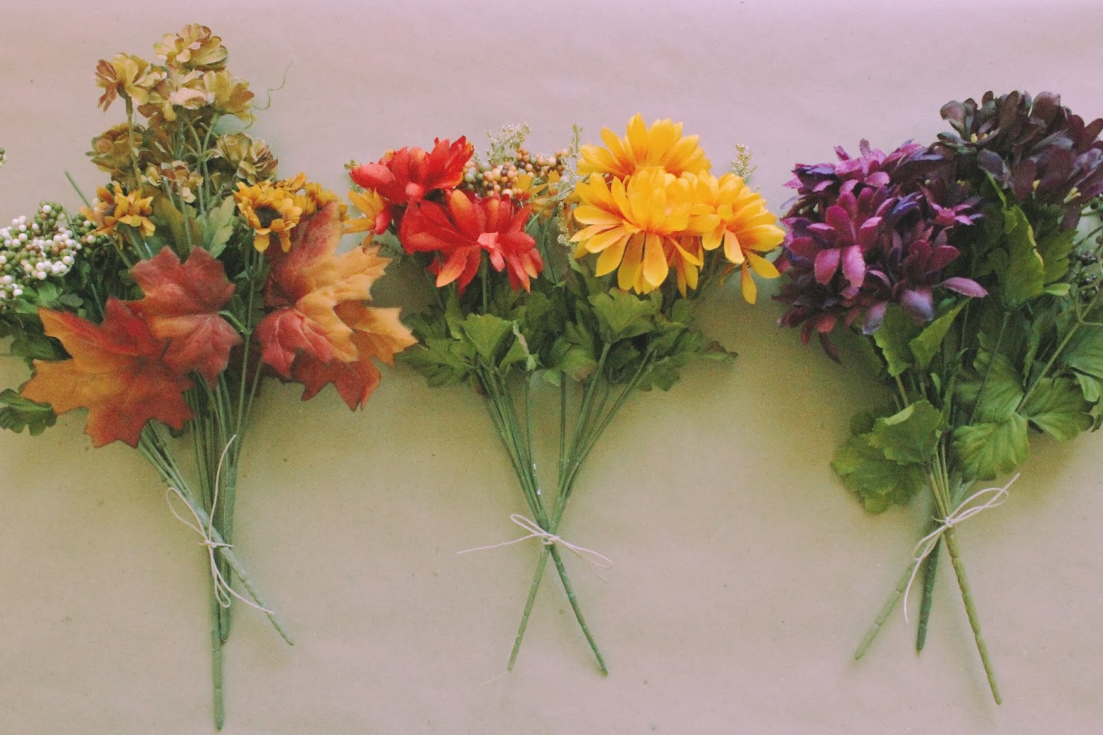 Potatopudding super sunday diy autumnal flower crowns how do i make a flower crown coordinate what color and theme you want your crown to be i am making rustic classic and wine themed autumnal crowns izmirmasajfo