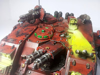 LAND RAIDER BLOOD ANGELS - WARHAMMER 40000 15