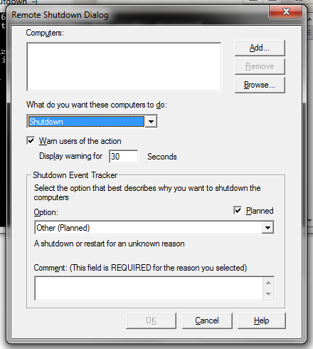 Tips & Tricks: How to Shutdown Remote PC with DOS Command Prompt