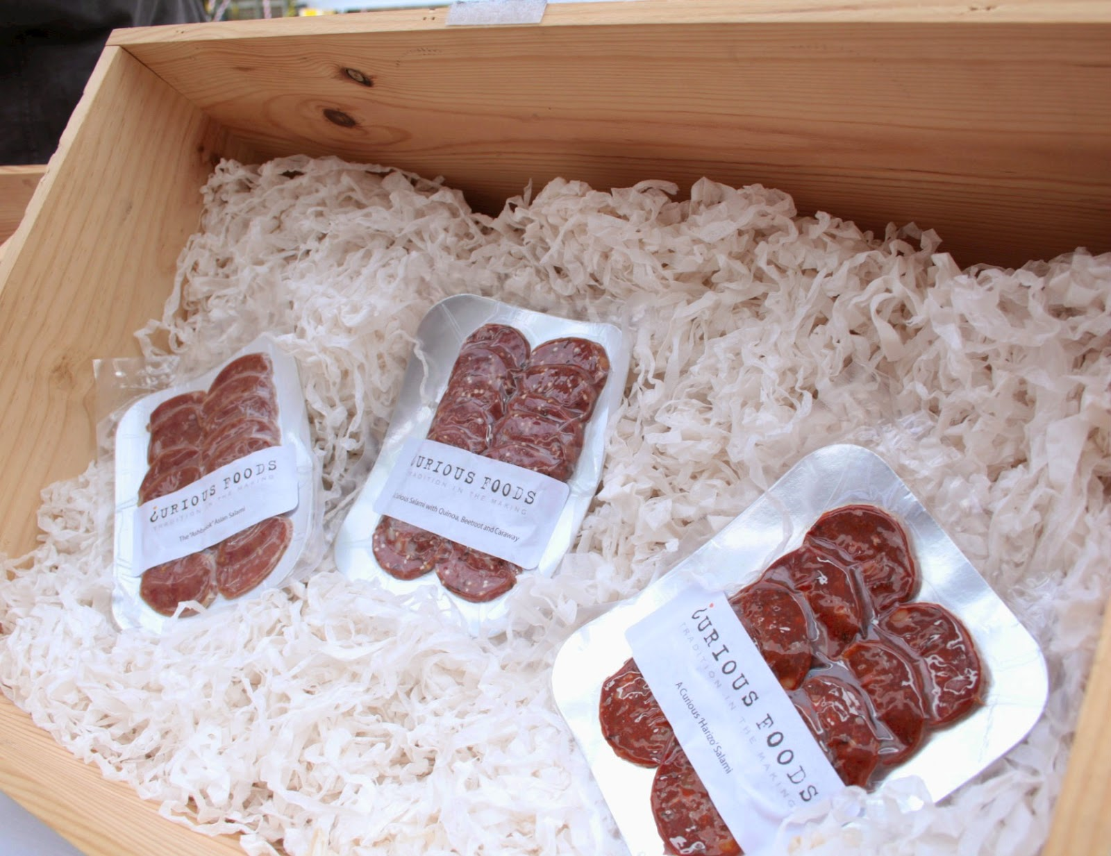 Tasty salami (with brilliant flavours) from Curious Foods