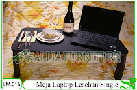 Meja Laptop Lesehan Klender Single