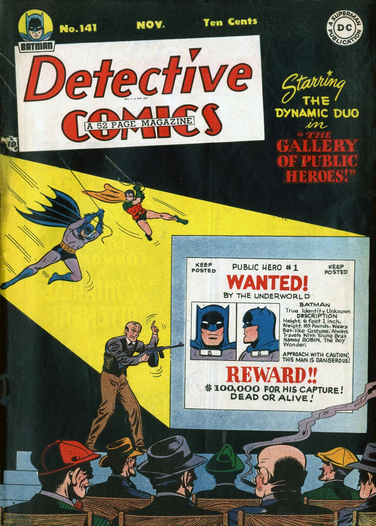 Detective Comics (1937) 141 Page 1