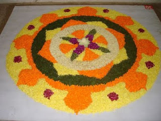 Onam Pookalam rangoli Designs,Wallpapers,Greetings