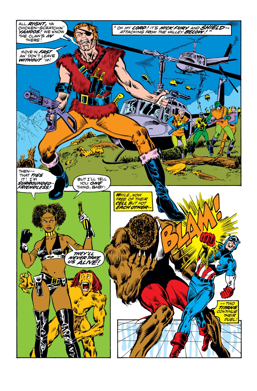 Captain America (1968) Issue #164 #78 - English 17