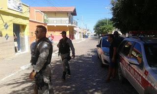 Ação Conjunta das Polícias Civil e Militar prendem 5 acusados de praticarem assaltos em Cuité e Nova Floresta
