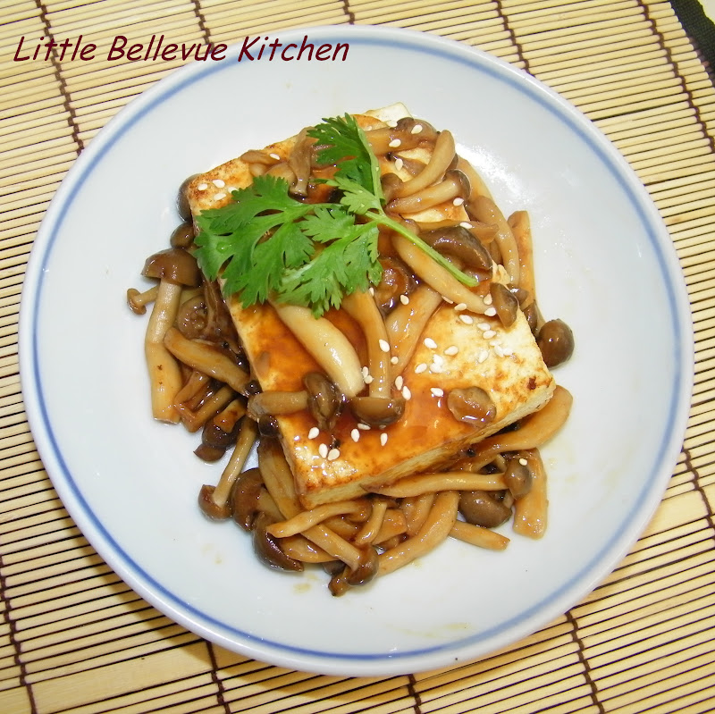 Little Bellevue Kitchen: Teriyaki Tofu Steak