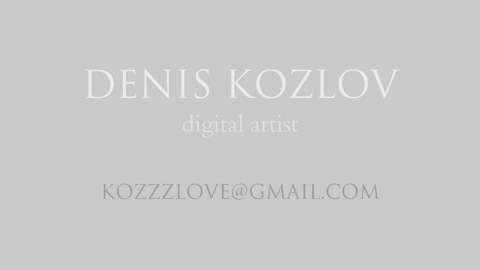 Denis Kozlov, vfx artist, email address