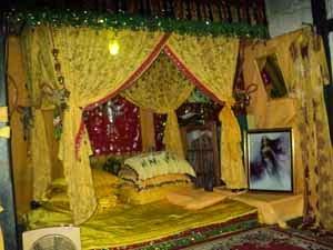 Mahligai Tempat Tidur Putri Junjung Buih