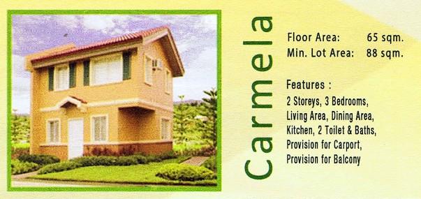 Camella Davao - Communal, Buhangin, Davao City - Carmela model