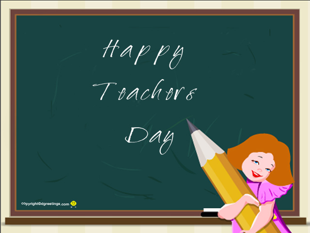 Happy Teacher's Day 2012, Mom!