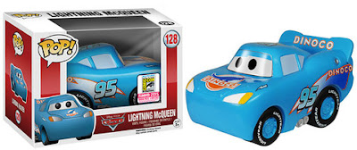 "San Diego Comic-Con 2015 Exclusive Cars ""Dinoco"" Lightening McQueen Pop! Disney/Pixar Vinyl Figure by Funko"