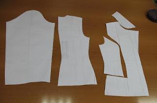 cartamodello della giacca