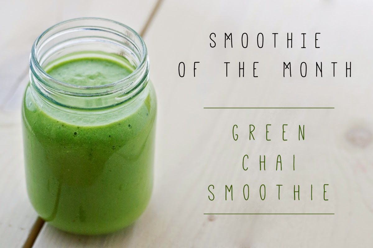 green chai smoothie