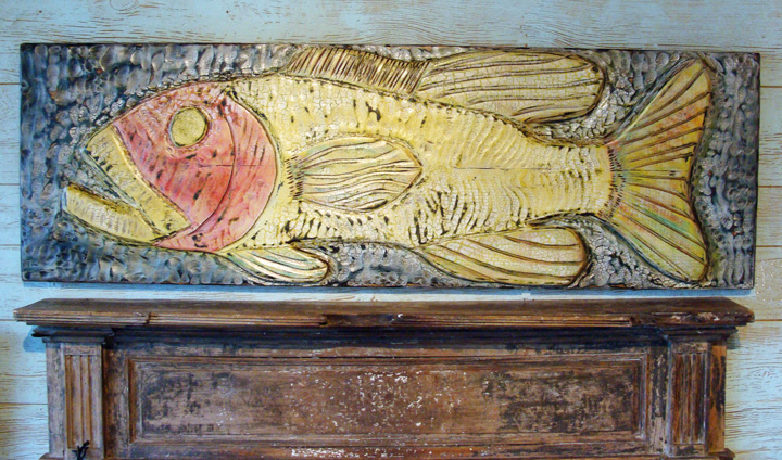 Coastal creations design quot folky fish featured at the