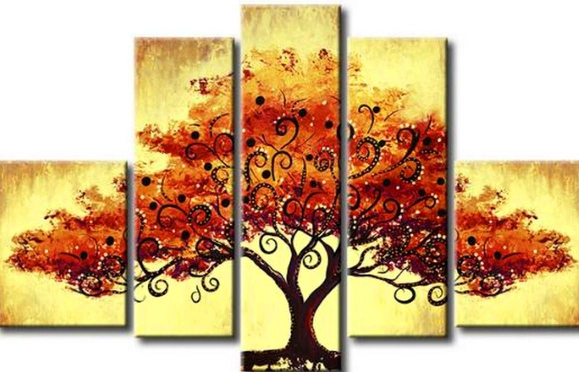 Im genes arte pinturas paisajes modernos decorativos for Imagenes de cuadros modernos