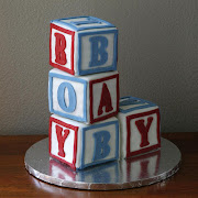 BYU vs. UofU Baby Shower Cake