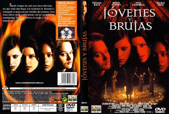 Jovenes y Brujas Dvd