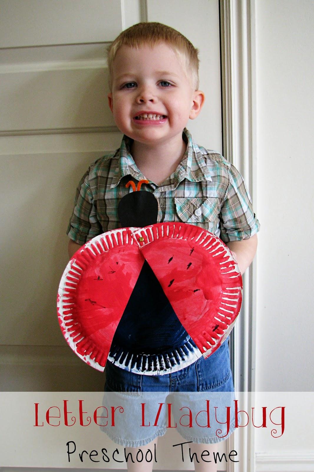 mommy u0026 39 s little helper  letter l  ladybug preschool theme