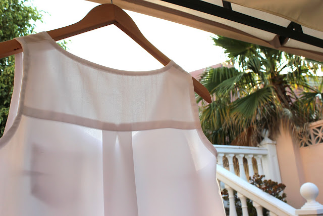 Blog de costura. Cmo hacer y coser una blusa blanca bsica