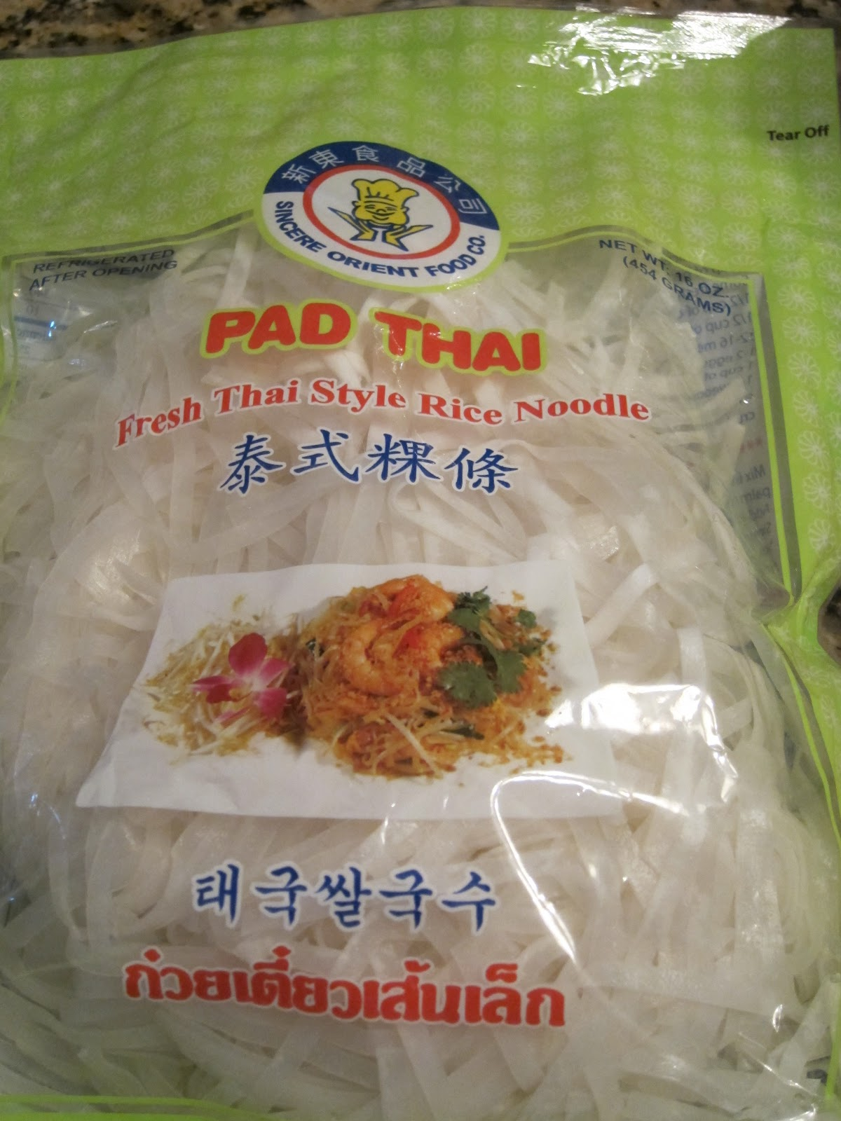 mami-eggroll: mami's pad thai for two