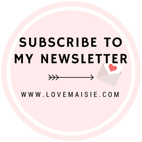 SUBSCRIBE TO MY MONTHLY NEWSLETTER!