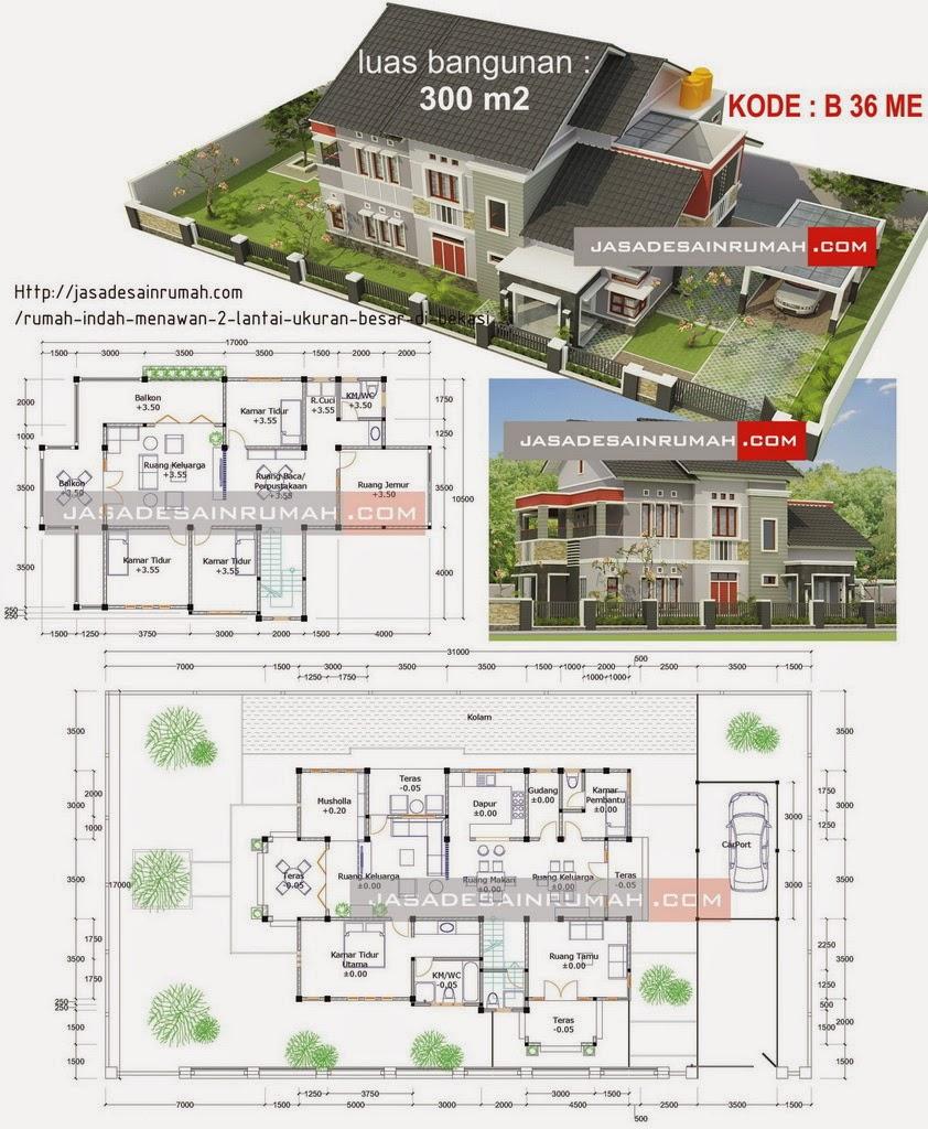 Desain Rumah Minimalis 1 Lantai Beserta Denahnya Gambar Foto