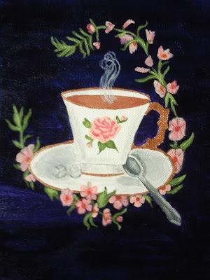 clipart victorian tea cup