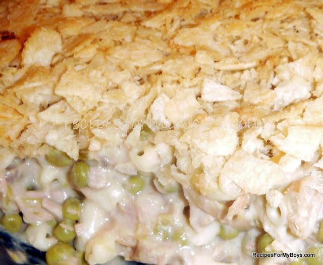 Recipes for my boys tuna fish casserole for How to make tuna fish casserole