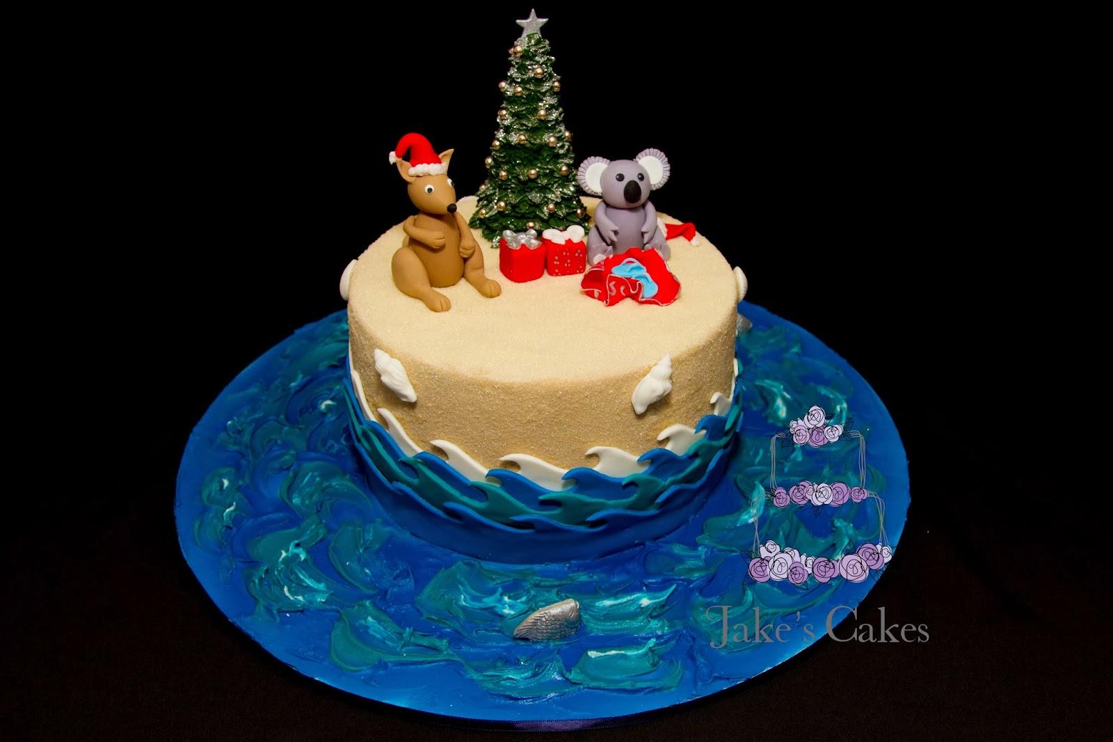 Jakes Cakes An Australian Christmas Cake