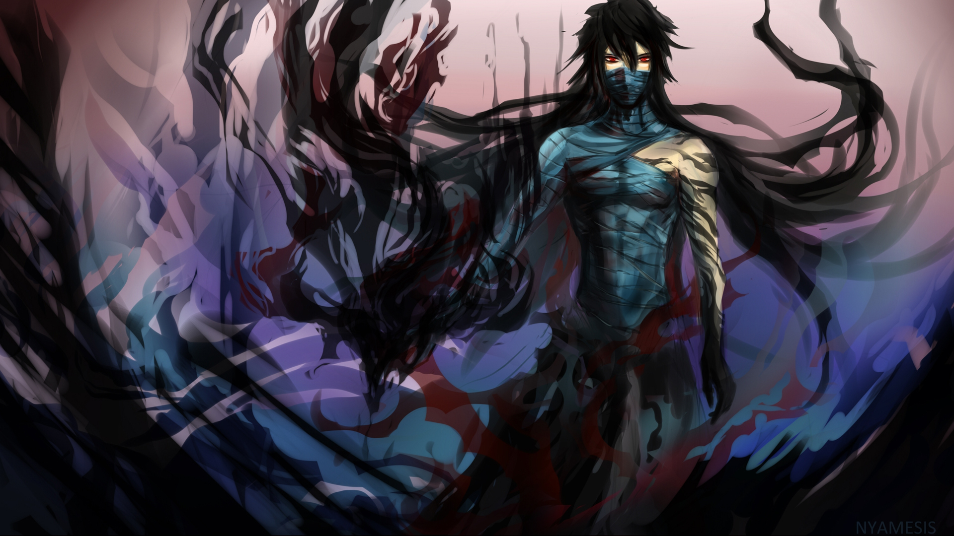 Kurosaki Ichigo Final Getsuga Tenshou Bleach Anime