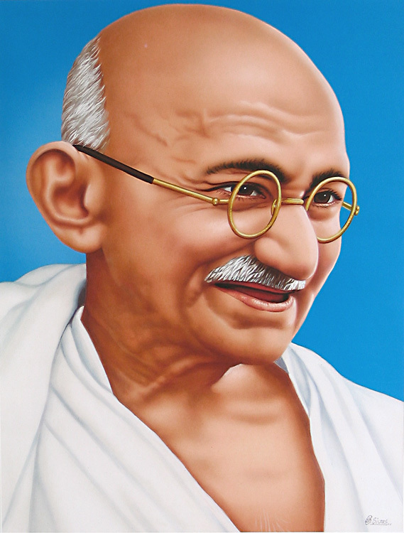 name of mahatma gandhi
