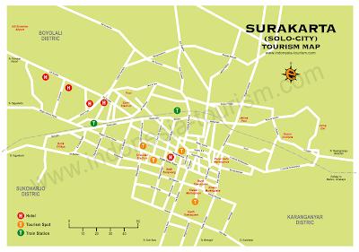 Peta Kota: Peta Kota Solo - Surakarta