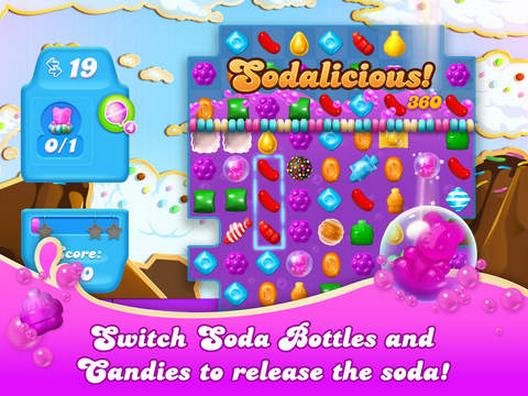 Candy Crush Soda Saga APK / APP Download [ Android/iOS APP ]