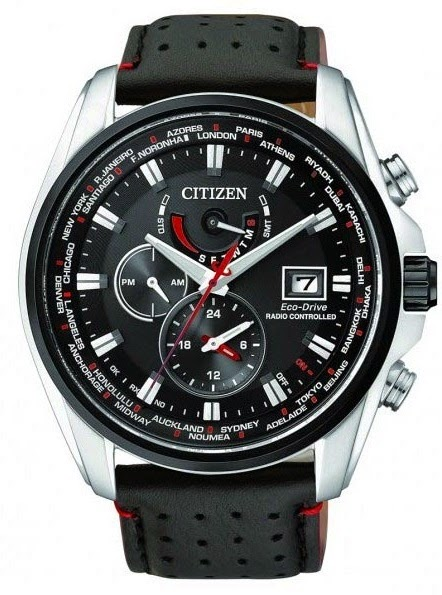 CITIZEN ECO-DRIVE RADIO CONTROL AT9037-05E
