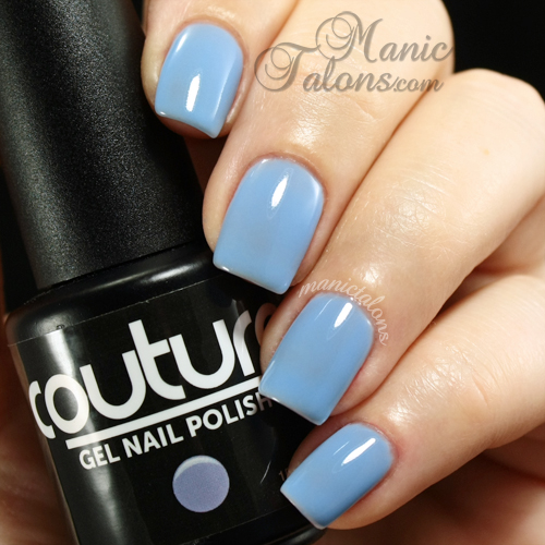 Couture gel polish Naughty-cal swatch