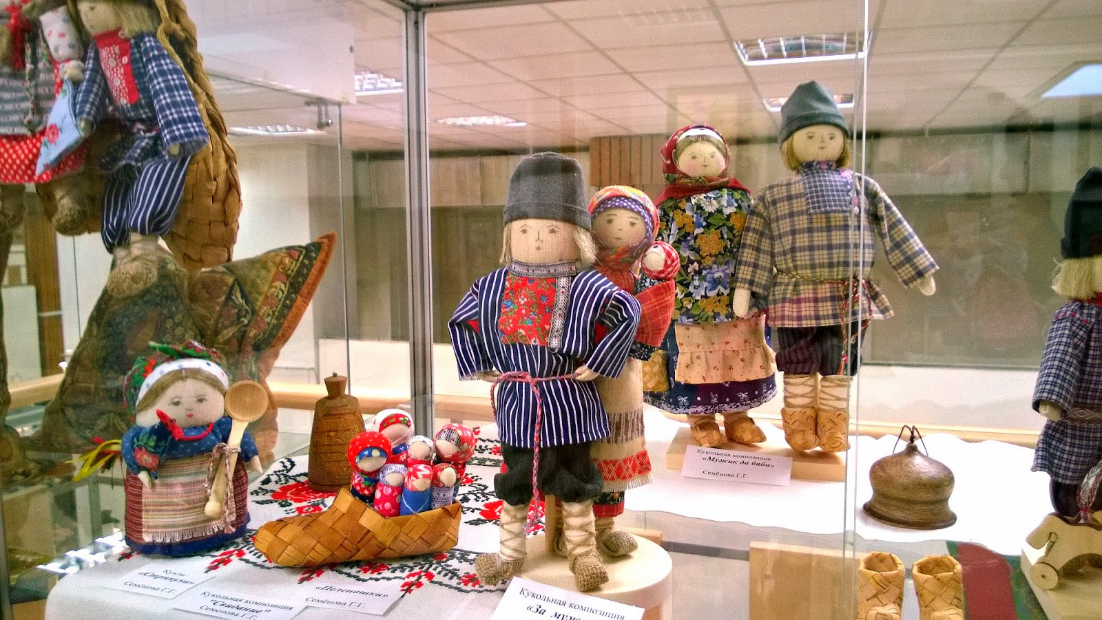 кукла оберег в народном стиле