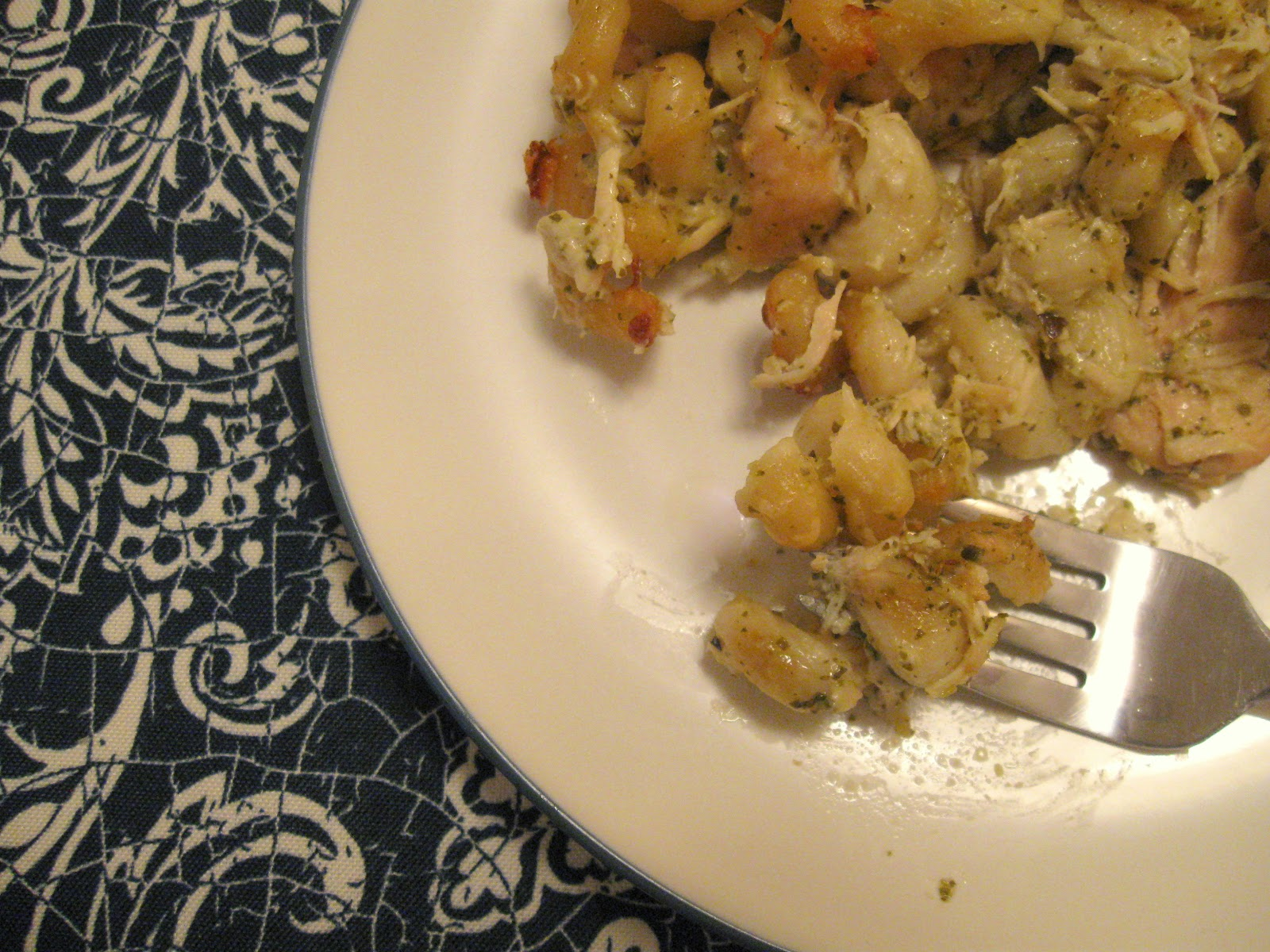 Dinner in Parker Ford: Creamy Pesto-Chicken Casserole